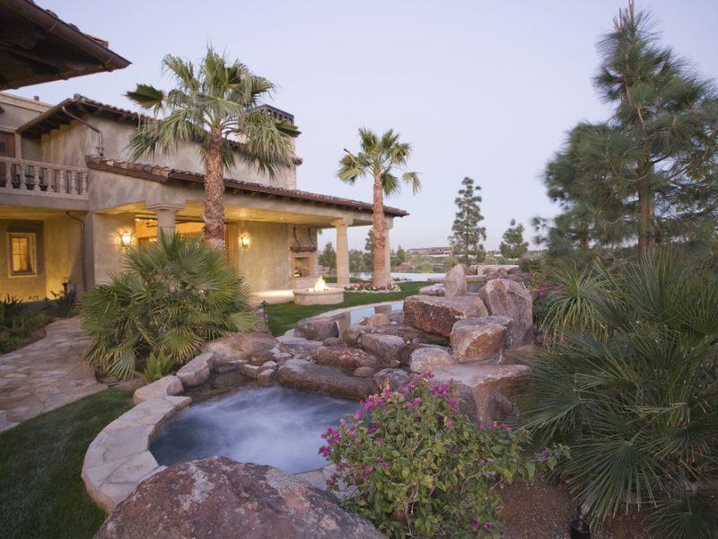 Swimming Pool With Custom Stone Work And Masonry - Laguna Beach CA
