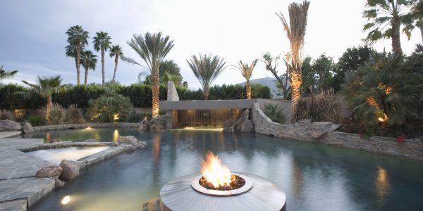 Swimming Pool With Custom Stone Work And Masonry - Dana Point CA